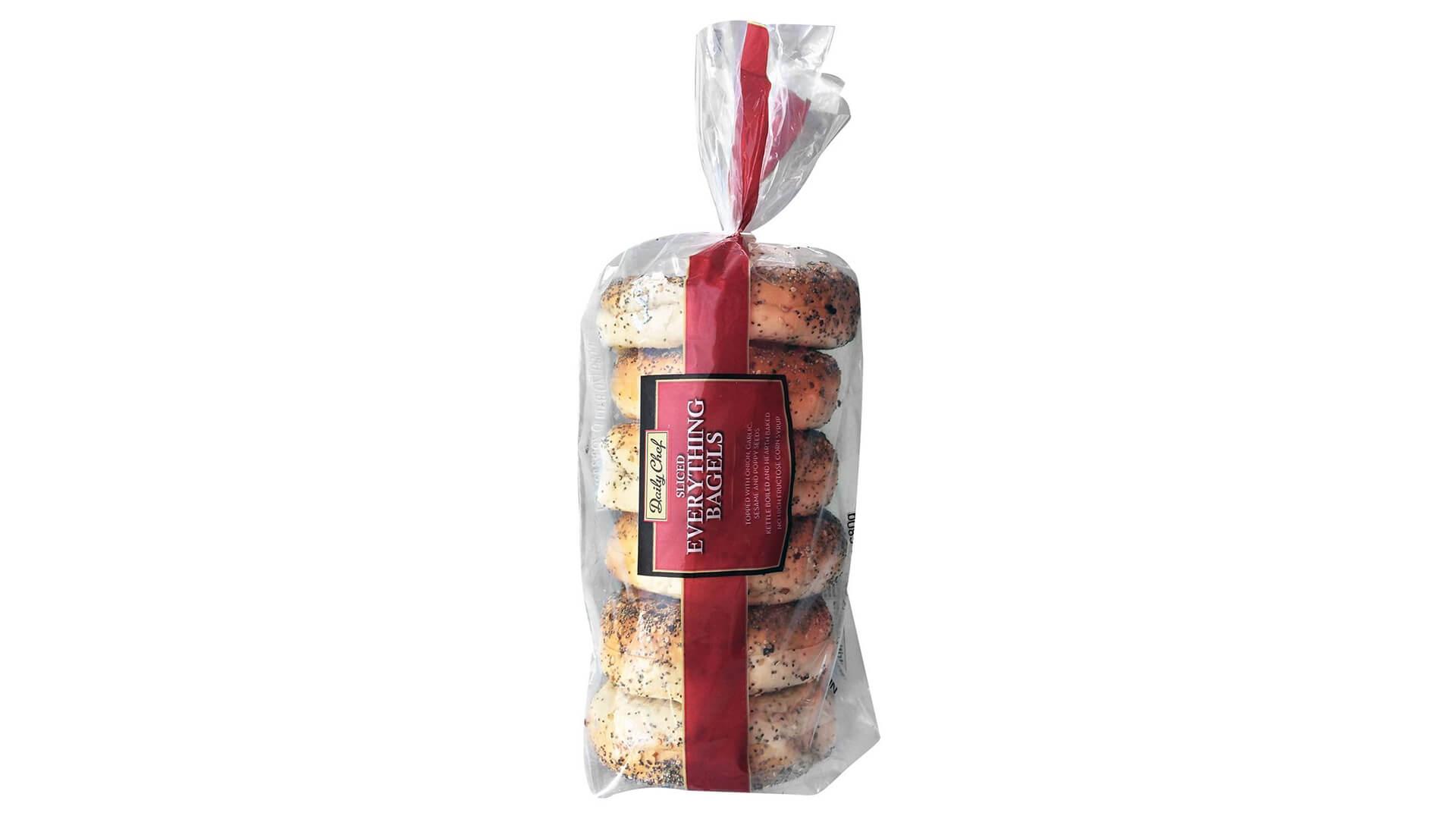 My baby a bag of half a dozen bagels