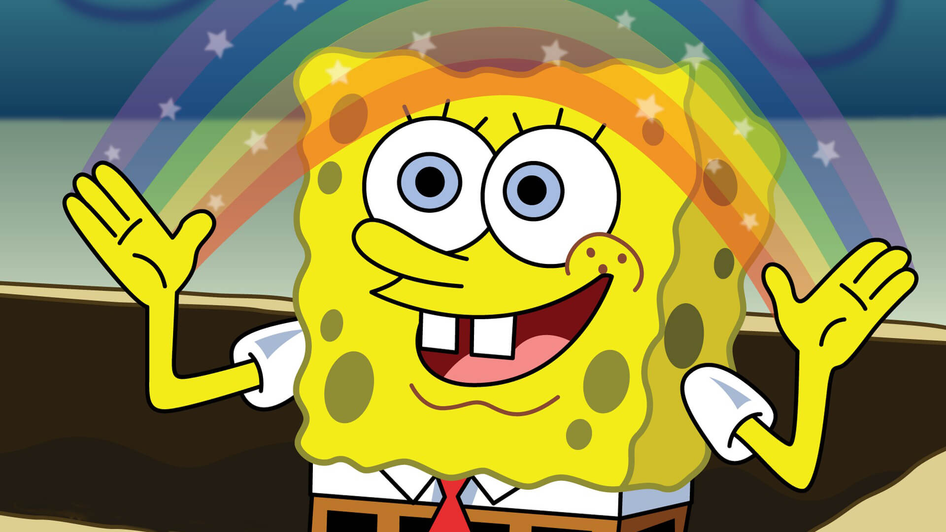 My baby SpongeBob SquarePants